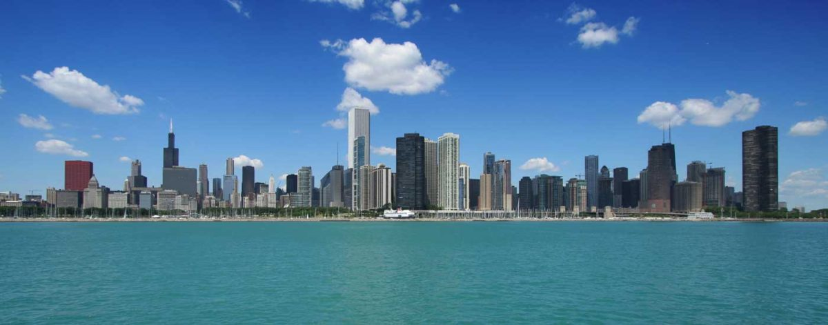 illinois chicago skyline